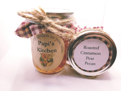 Roasted Cinnamon Pear Pecan Jam  - State Fair Winner!