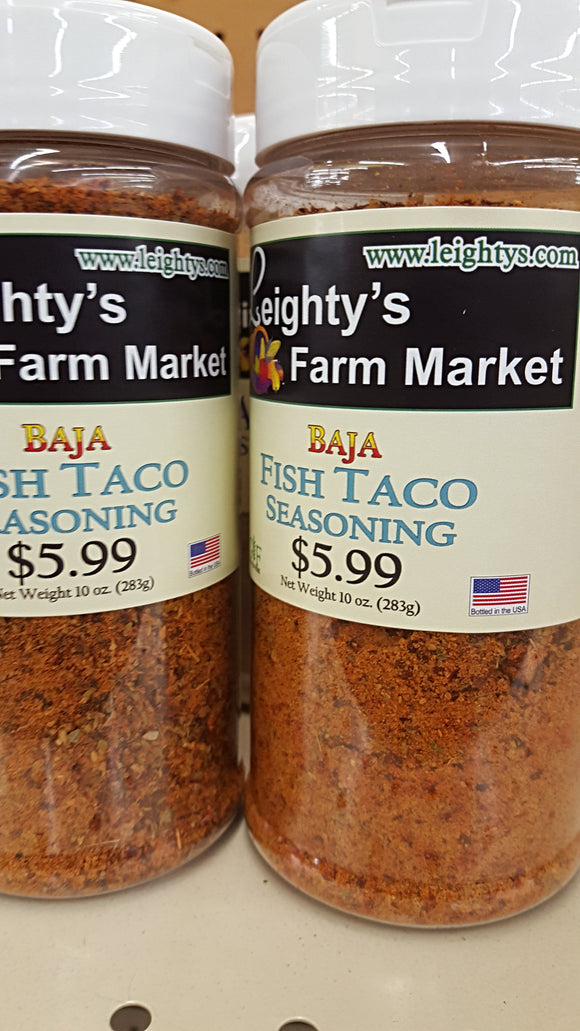 Baja Fish Taco Seasoning