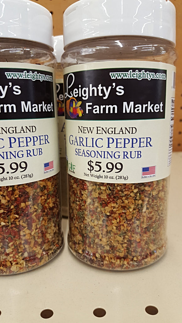 New England Garlic Pepper