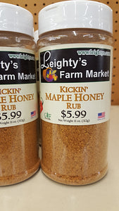 Kickin' Maple Honey Rub