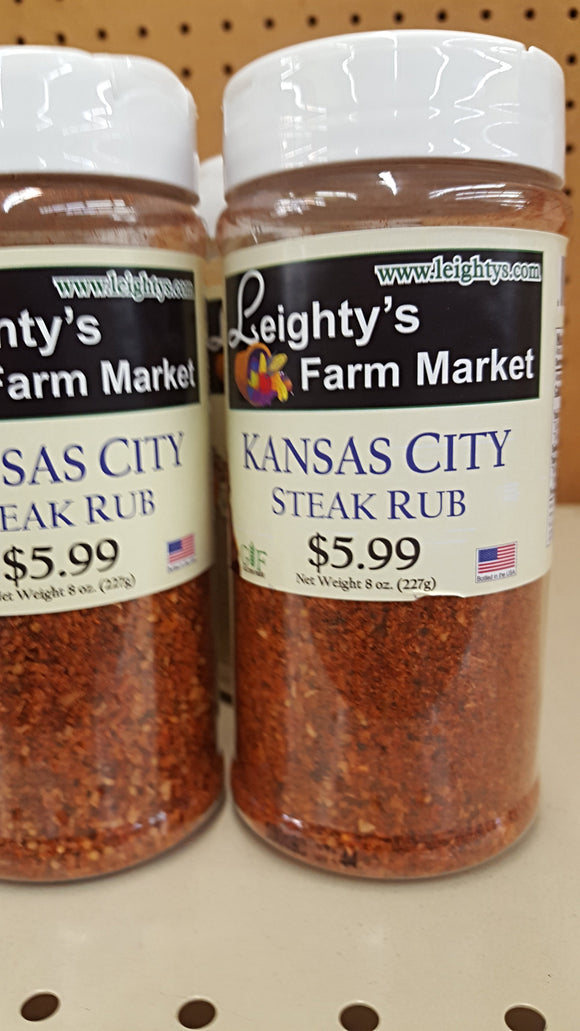 Kansas City Steak Rub