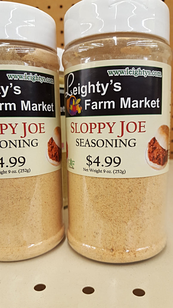 Sloppy Joe Seasoning