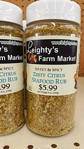 Zesty Citrus Seafood Rub