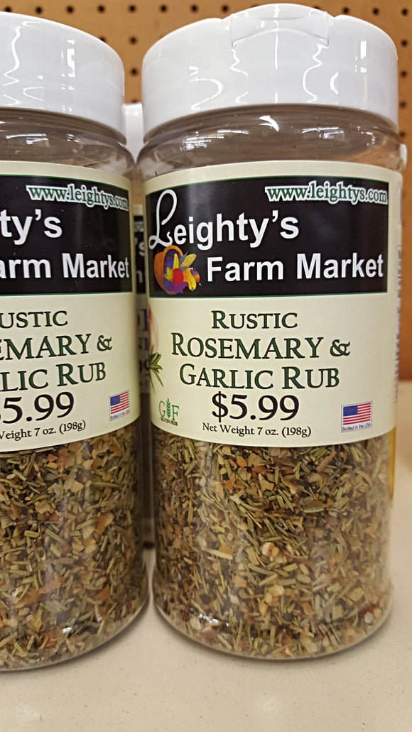 Rustic Rosemary & Garlic Rub