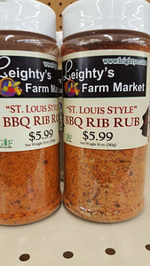St. Louis BBQ Rib Rub