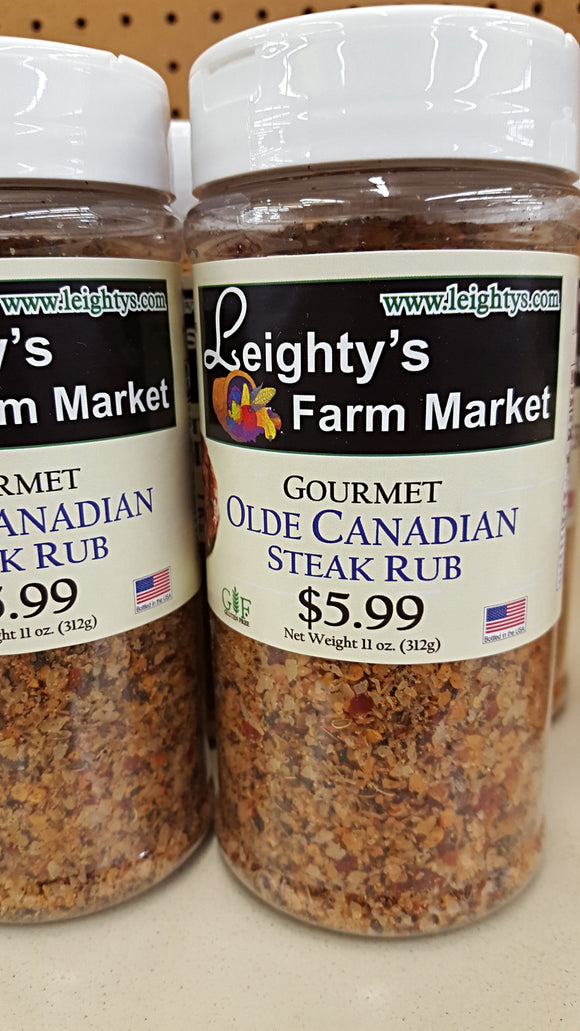 Olde Canadian Steak Rub