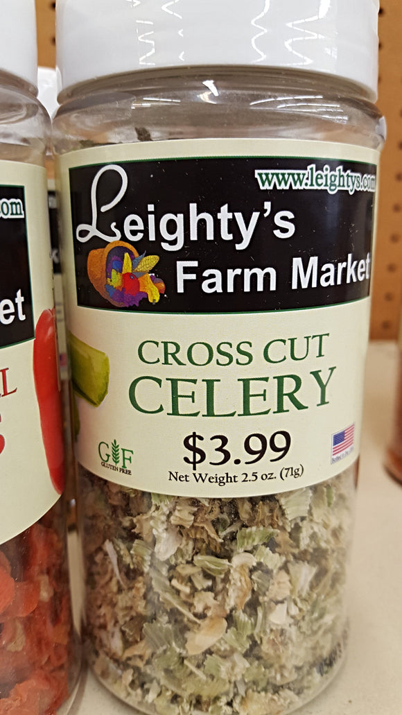 Cross Cut Celery