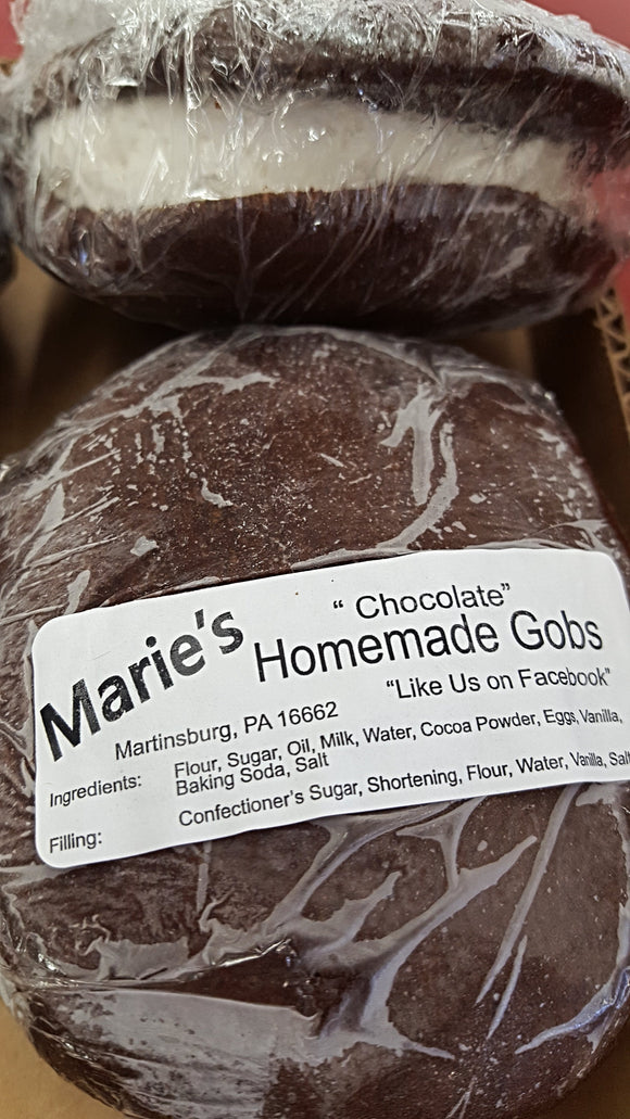 Marie's Gobs (Box of 6)