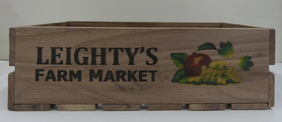 Fruit Basket Wooden Crate