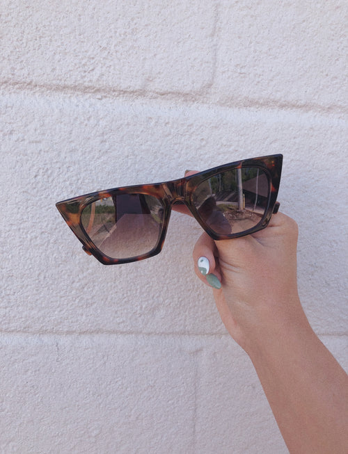 Cat Eye Sunglasses {3 Styles}