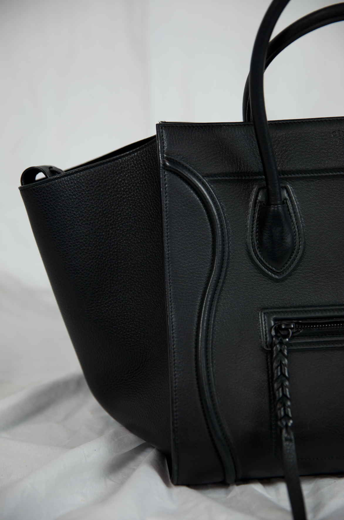 Céline Black Phantom Tote