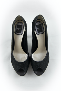 Black Lace Christian Dior Pumps