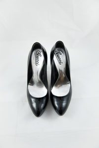 Gucci Black Patent Leather Pumps