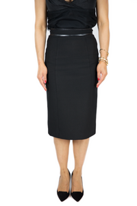Burberry - Black Skirt - Size 2