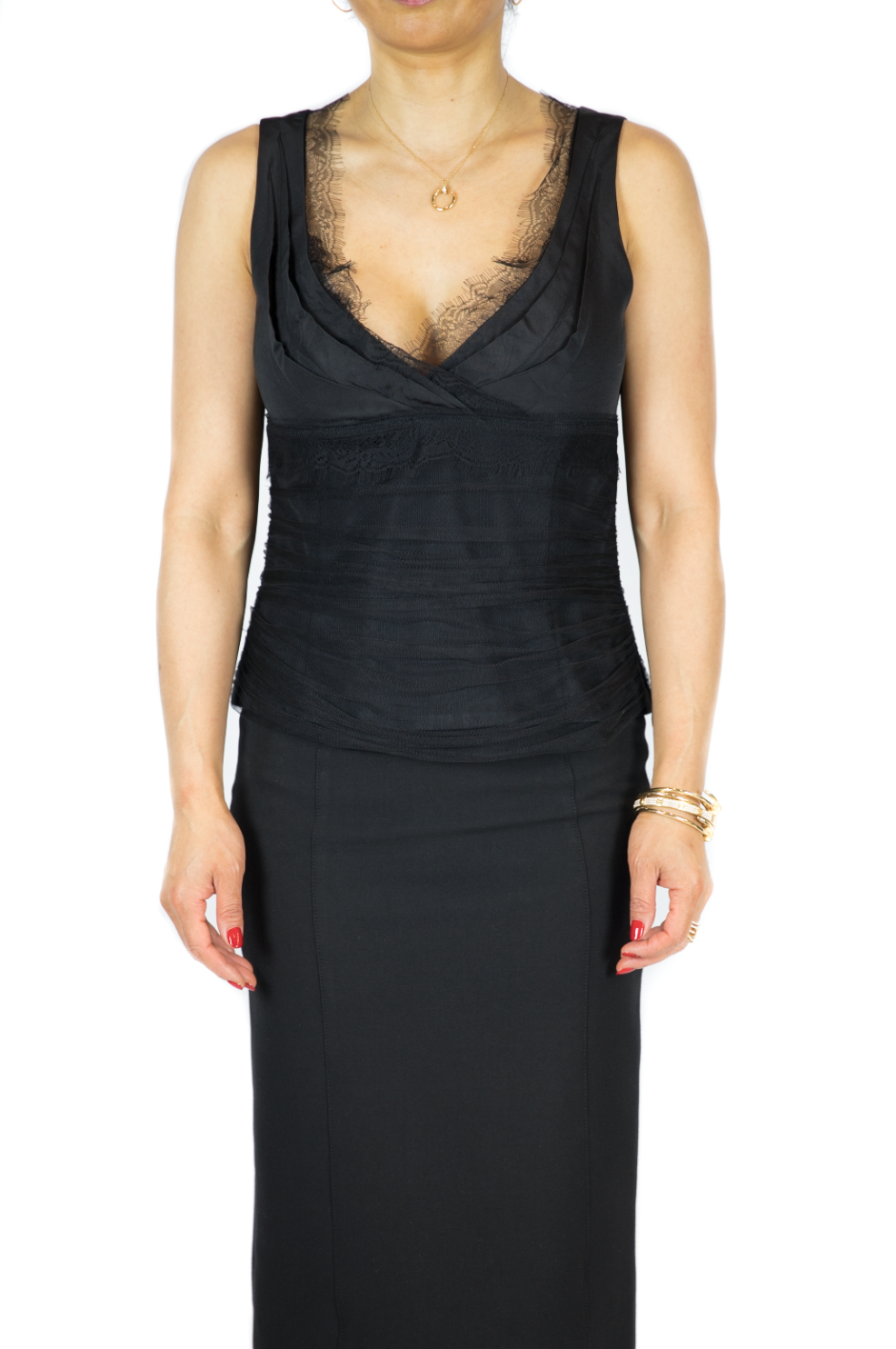 Lida Baday - Black Sleeveless Top