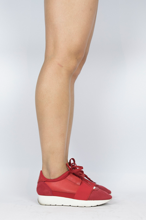 Balenciaga - Red Sneakers - Size 35