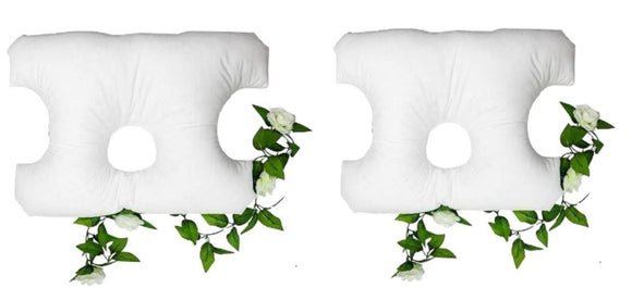 Buy 2 and save  - Cervical bed pillows for neck and back pain. Great for CPAP and ear pain.