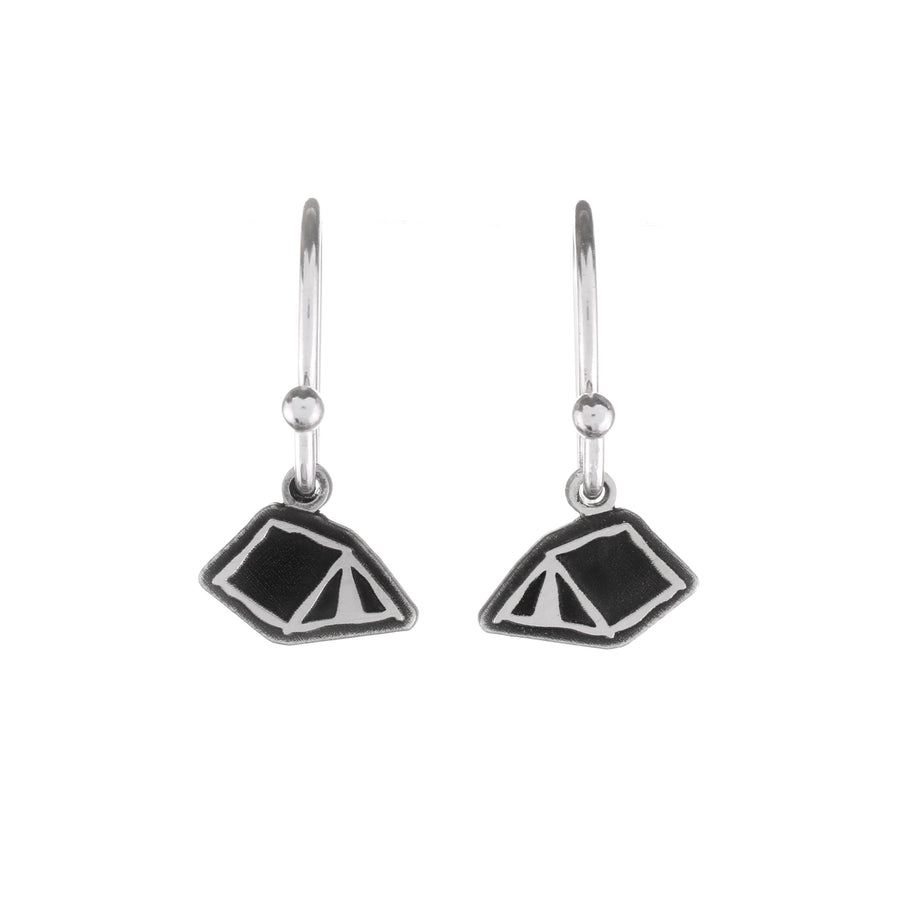 Tent Dangle Earrings