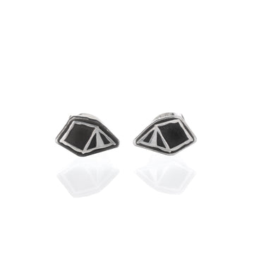 Tent Stud Earrings