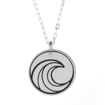 Tidal Wave Round Necklace