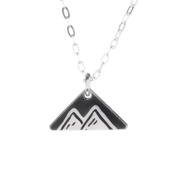 Mountain Peaks Mini Necklace