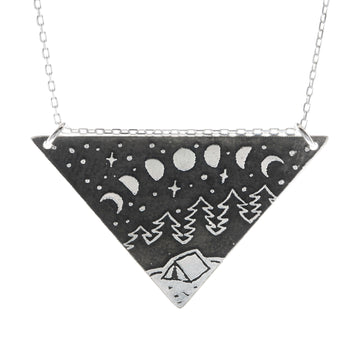 Wanderlust Triangle Necklace