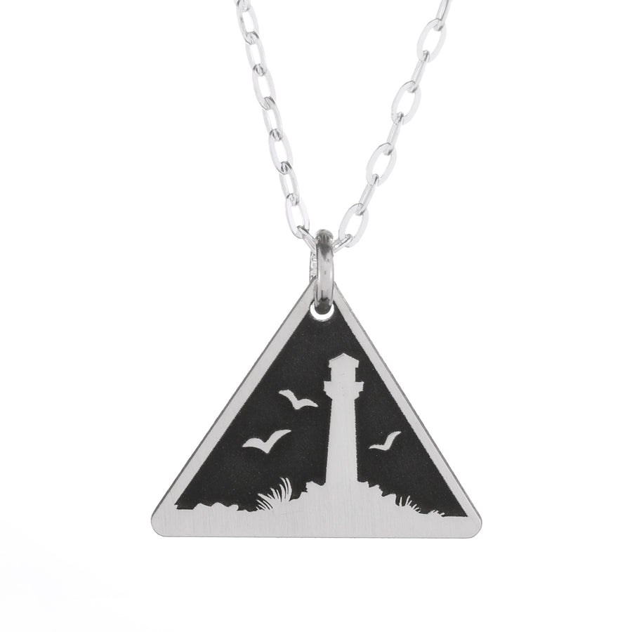 Tree Night Skinny Vertical Bar Necklace