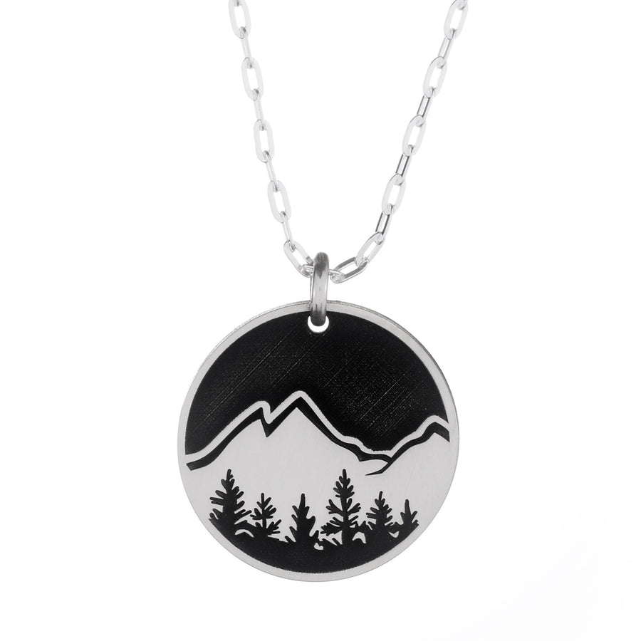 Explore Round Necklace