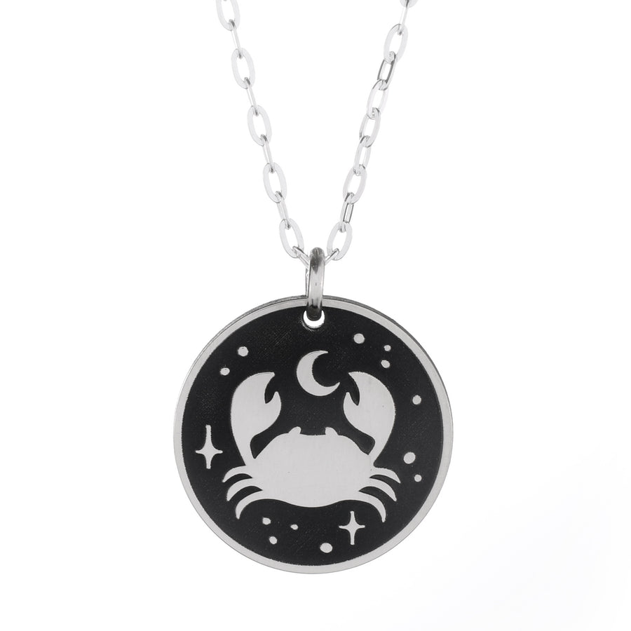 Crab Nebula Round Necklace