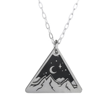 Layered Mountains Necklace