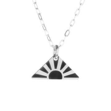Bold Sun Mini Necklace