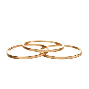 Rose Gold Fill Stacking Ring