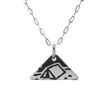 Tent Mini Necklace