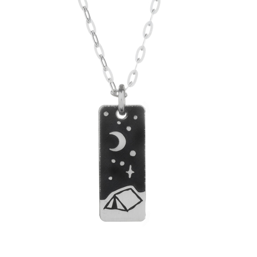 Night Outdoors Mini Necklace