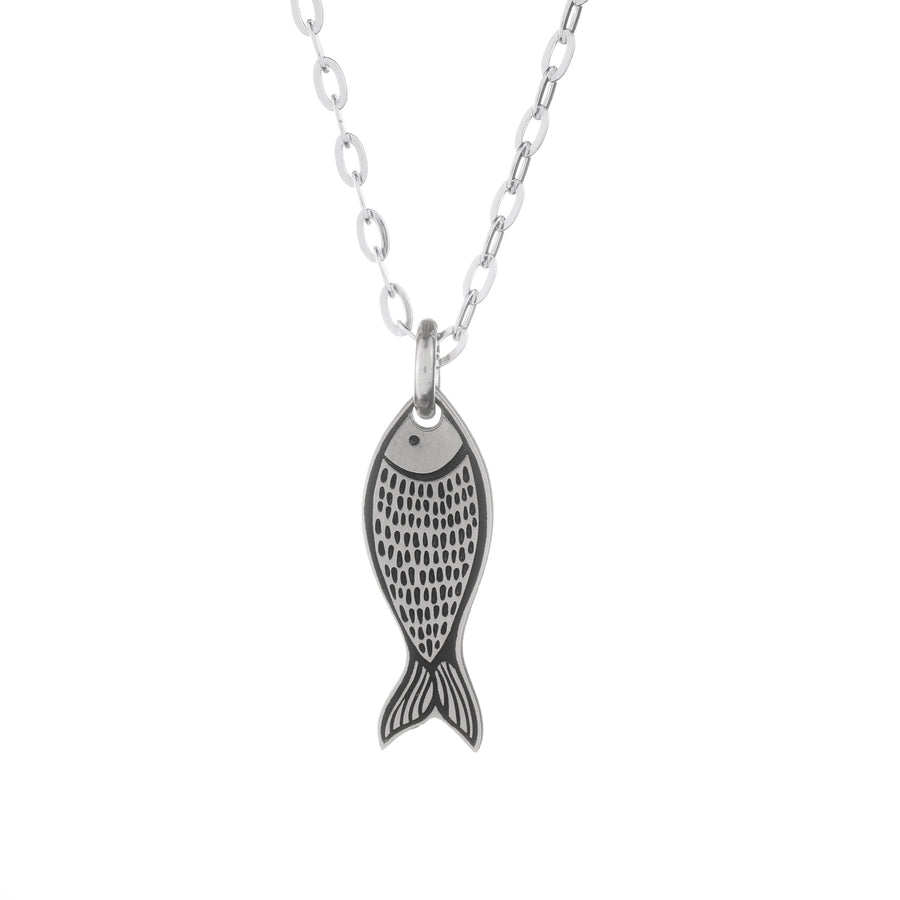 Only Fish for Me Necklace