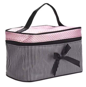 Dots & Stripes Cosmetic Bag