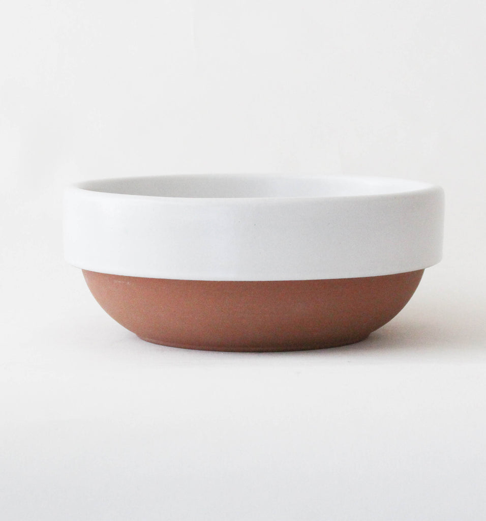 SERVING BOWL IN WHITE