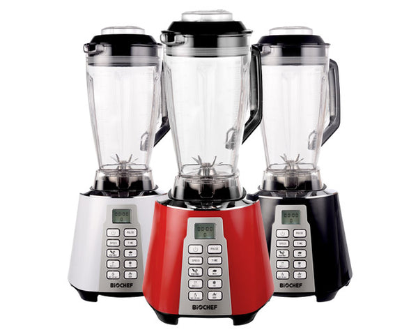 Biochef nova blender white black and silver