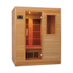 Zen 3 Person Low EMF Infrared Sauna