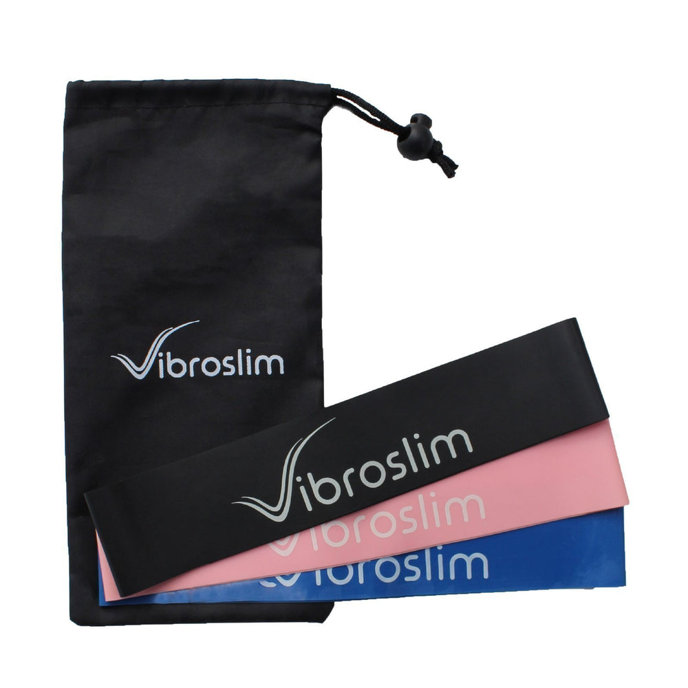 VibroSlim Stretch Resistance Bands - Set of 3