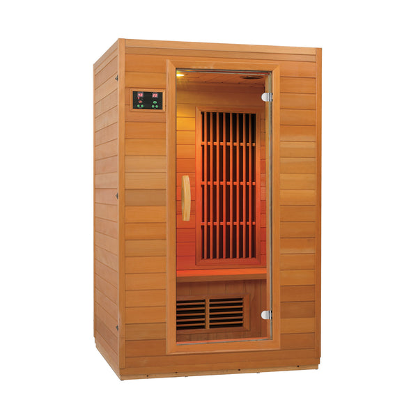 Zen 2 Person Low EMF Infrared Sauna