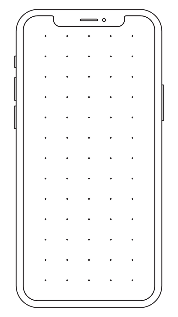 Free iPhone 12 Pro Max Printable Template
