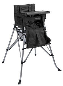 One2Stay戶內外兩用摺疊高腳餐椅/One2Stay 2ways Portable Highchair Black ;One2Stay香港澳門總代理
