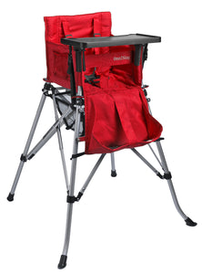 One2Stay戶內外兩用摺疊高腳餐椅/One2Stay 2ways Portable Highchair Red,One2Stay香港澳門總代理