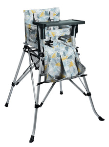 One2Stay戶內外兩用摺疊高腳餐椅/One2Stay 2ways Portable Highchair feather blue, One2Stay香港澳門總代理