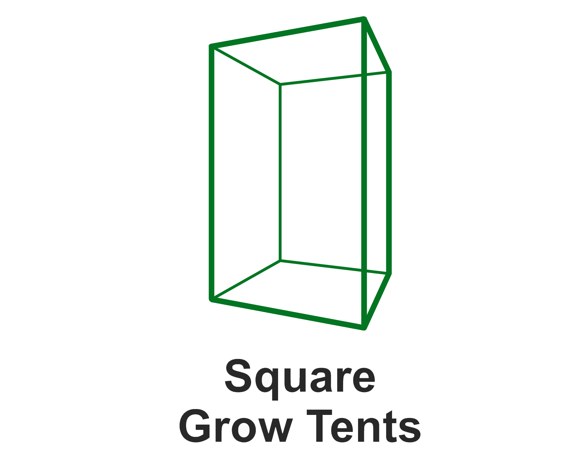 Square Grow Tents
