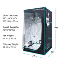 3' x 3' Indoor Grow Tent