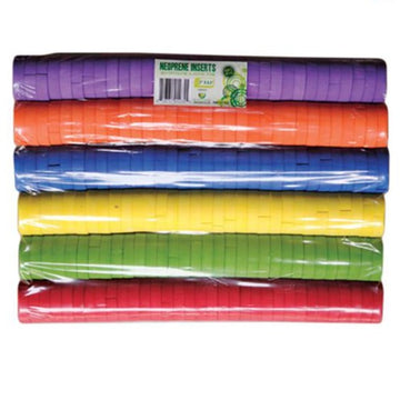 Color Coded Neoprene Inserts Pack of 192