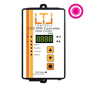 CO2 Analog CO2 PPM Controller, 5m remote sensor probe, 1-outlet