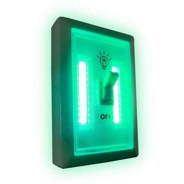 Green LED Wall Light Switch (12 Pack)